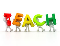 Teach team Stock Photography