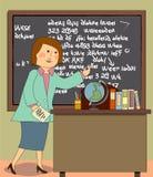 The Teacher Royalty Free Stock Photo
