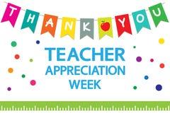 Free Teacher Appreciation Week School Banner Stock Image - 217646971