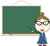 Teacher blackboard Stock Image
