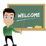The teacher Royalty Free Stock Image
