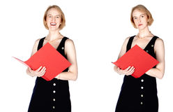Teacher or business woman Stock Photo
