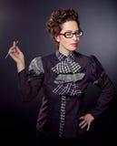 Teacher or businesswoman Royalty Free Stock Image