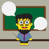 Teacher cartoon design Stock Photo