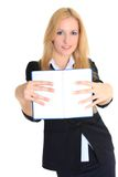 Teacher. Close up. Stock Photos