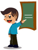 Teacher Cartoon Royalty Free Stock Images