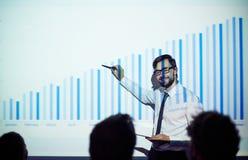 Teacher of economics Stock Images