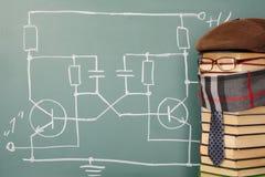 Teacher of electronics Stock Image