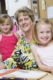 Teacher With Elementary Students Royalty Free Stock Photo