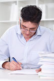 Teacher examination tests Royalty Free Stock Image