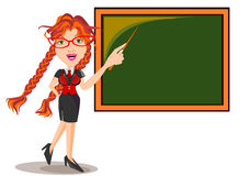 Teacher Female stock illustration