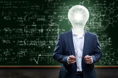 Teacher with Ideas Royalty Free Stock Photo