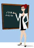 Teacher illustration Royalty Free Stock Images