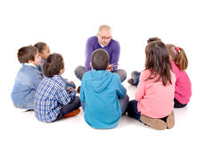 Teacher and kids Royalty Free Stock Image