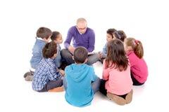 Teacher and kids Stock Photography