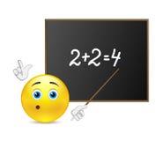 Teacher of mathematics Royalty Free Stock Images