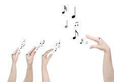 Teacher of music Stock Images