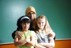 An a teacher muslim woman Stock Photo