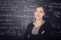 Teacher portrait Stock Image