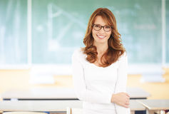 Teacher portrait Stock Image