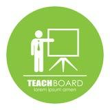 Teacher presentation icon Stock Photos