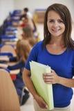 Teacher with pupils Stock Photos