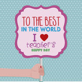 Teacher's Day Royalty Free Stock Photography