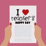 Teacher's Day Stock Image