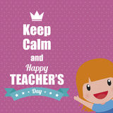 Teacher's Day Royalty Free Stock Image