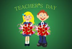 Teacher's day, Royalty Free Stock Photos