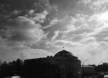 The Teacher`s House - Kyiv - UKRAINE. The Kiev City Teacher`s House Ukrainian: Київський міський будинок учителя is a historical stock image