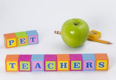 Teacher's Pet Royalty Free Stock Images