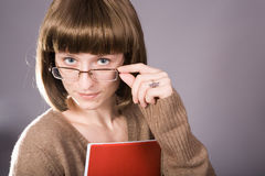 Teacher's stare Royalty Free Stock Images