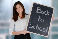 Teacher At School Royalty Free Stock Image
