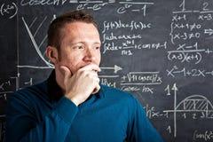 Teacher at school stock photo