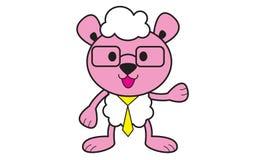 Teacher Sheep. Illustration of Teacher Sheep Logo Royalty Free Stock Image