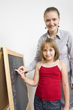 Teacher and student Stock Photos