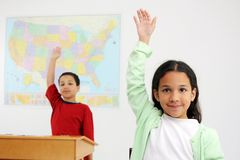 Teacher and Student Royalty Free Stock Photos