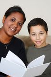Teacher and Student Royalty Free Stock Photography