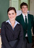 Teacher and student Stock Photography