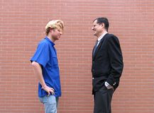 Teacher & Students Royalty Free Stock Photos