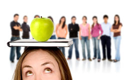 Teacher and students Stock Images
