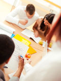Teacher and Students Royalty Free Stock Images
