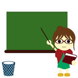 Teacher teaching Stock Images