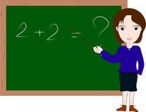 Teacher teaching Royalty Free Stock Image
