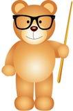 Teacher teddy bear Stock Images