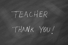 Teacher Thank You! Stock Photography