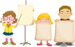 Teacher and usher Royalty Free Stock Images