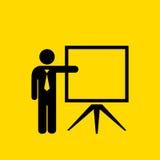 Teacher vector icon Stock Photos