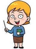 Teacher. Vector illustration of Cartoon Teacher Royalty Free Stock Photo